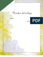 Portada Floral (Eportadas.com)