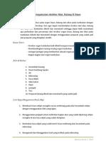 Laporan Pengamatan Struktur Daun, Batang Dan Akar BaB II