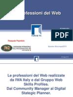 Le professioni del Web