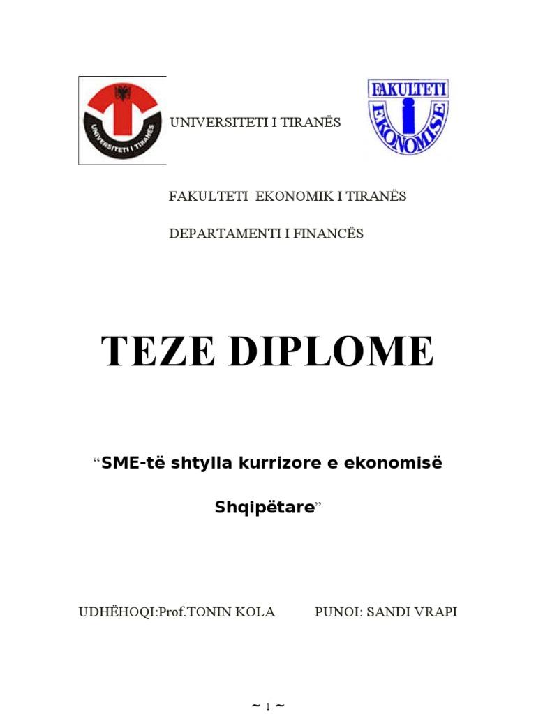 Teme Diplome