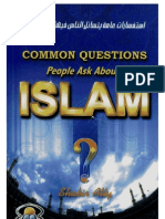 To Questions You May Ask About Islam