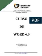Curso básico de Word volume 02/04