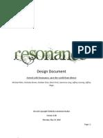 Resonance Design Document