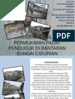 Perbaikan Fasilitas Permukiman Padat Penduduk Di Bantaran Sungai
