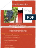 Red Wine Maceration