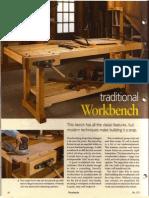 Traditional Workbench WoodSmith Volume 29 No. 173
