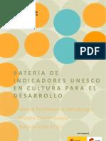 Cultura y Desarrollo Indicadores 1