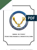 (Alumnos)Manual Del Tecnico Para Pruebas de Concreto