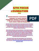 Faith Focus Foundations