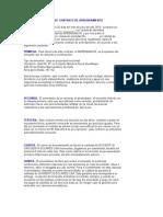 Modelo de Contrato de Arrendamiento Ecuador English