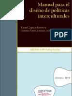 Zapata-Barero y Pinyol (edit.) - Manual para el diseño de políticas interculturales..pdf