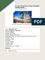 #Rio Vista Plaza for sale.docx