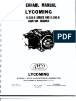 Lycoming O 235 290 Overhaul