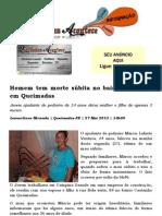 Homem tem morte súbita no bairro Castanho em Queimadas