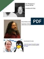 Los Padres De los Sistemas Operativos