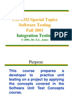 Lecture IntegrationTesting