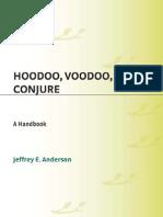 139769418 Hoodoo Voodoo and Conjure