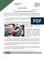 12/10/11 Germán Tenorio Vasconcelos REALIZA SSO CONTROL LARVARIO EN MÁS DE 600 MIL CASAS