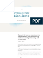 The Productivity Manifesto