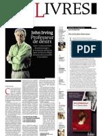 Supplément Le Monde des livres 2013.04.19