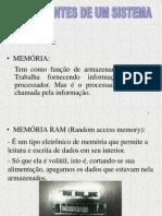apresentação sobre memorias prof Vlamir