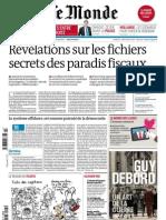 Supplément Le Monde des livres 2013.04.05