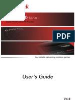 Vigor2910 User Guide V4