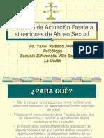 Protocolo de Actuación Frente a situaciones de Abuso