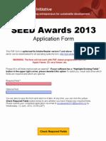 En SEED 2013 Awards AppForm Final