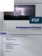 Risk Management in Ppp Projects