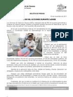 03/11/11 Germán Tenorio Vasconcelos MÁS DE 800 MIL ACCIONES EN 2a SNSB