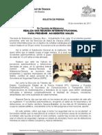19/11/11 Germán Tenorio Vasconcelos Realiza SSO Reunión Interinstitucional para prevenir Accidentes viales