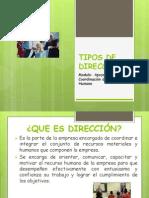 TIPOS DE DIRECCIÓN