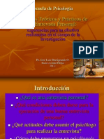 Clase 5 La Entrevista Personal Casos 2012