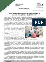 30/11/11 Germán Tenorio Vasconcelos lleva bienestar caravanas de la salud, hasta los rincones más alejados  _0