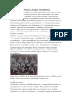 HISTORIA DEL FÚTBOL DE GUATEMALA