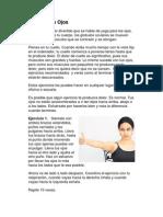 Yoga Para Ojos. PDF