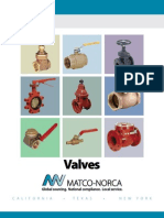 2011 Valve Catalog Matco Norca