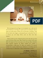P. Dávila (Encomendando a sus estudiantes)