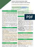 Reaproveitamento do óleo vegetal para a produção de sabão artesanal - 201135
