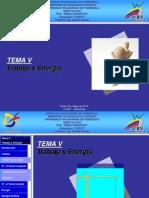 Tema V - Trabajo y Energía - Sabhib - 2012