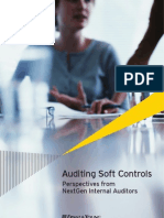 Auditing Soft Controls - Perspectives From NextGen Internal Auditors