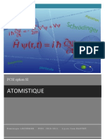 Atomistique PSI