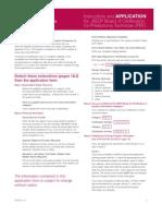 PBT Application Form