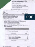 TSGE2 Examen Fin Formation 2012 Synthèse1