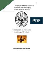 Ponencias Del I Congreso Juridico Landivariano