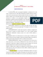 Material Complementario Para Derecho Procesal Penal I