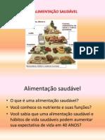 ALIMENTAÇÃO SAUDÁVEL- LULU