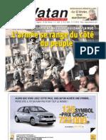 El Watan 01.02.2011 - Mouloud Hamrouche