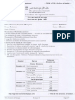 TCE Examen Passage 2012 Synthèse2